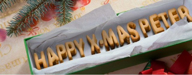 Fröhliche Weihnachten mit Bildpersonalisierung