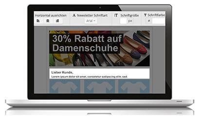 Newsletter erstellen mit Newsletter2Go