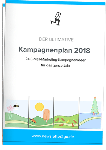 E-Mail-Marketing-Kampagnenplan 2018 - Newsletter2Go