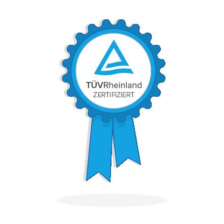TÜV Zertifizierter Datenschutz für Newsletter2Go