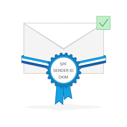 Email Marketing Software mit DKIM-, Sender ID- und SPF-Signierung