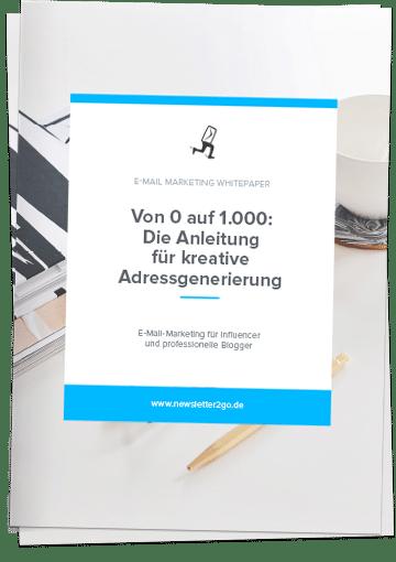 Adressen generieren Whitepaper - Newsletter2Go
