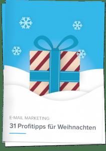Whitpaper 31 Profitipps für Weihnachten - Newsletter2Go
